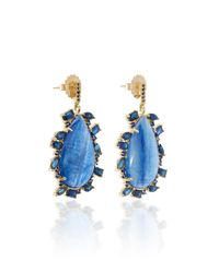 Eden Presley - Blue Kyanite Earrings - Lyst