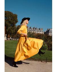 Acheval Pampa Yellow Argentina Cotton Dress