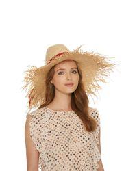 Gigi Burris Millinery Multicolor Ete Straw Hat
