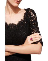 Anabela Chan - Pink Rose Cinderella Ring - Lyst