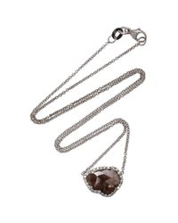 Kimberly Mcdonald - Metallic 18k White Gold Diamond Necklace - Lyst