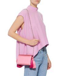Glorinha Paranagua Pink Dani Tassel Bag