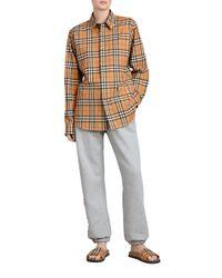Burberry Multicolor Rainbow Vintage Check Shirt for men