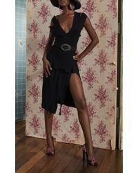 Altuzarra Black Tiziana Cutout Dress