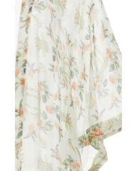 VERANDAH Multicolor Ethereal Minga Silk Kimono
