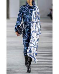 Tibi   Multicolor Renzo Scarf Dress   Lyst
