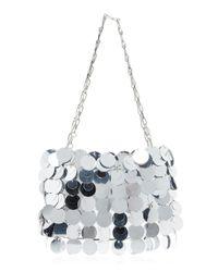 Paco Rabanne Metallic Sparkle 69 Sequined Shoulder Bag