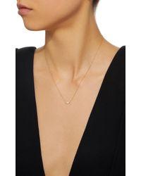 Octavia Elizabeth - Metallic 18k Gold Diamond Necklace - Lyst