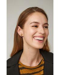 Melissa Kaye - White Chloe 18k Gold Diamond Earrings - Lyst