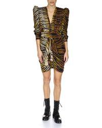 Dundas Multicolor Storm Silk Dress