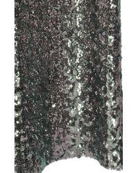 Alexis Metallic Harmon Sequin Flare Pants