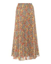 Alexis Multicolor Phylicia Pleated Skirt