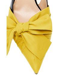 Prada Yellow M'o Exclusive: Pelle Slingback