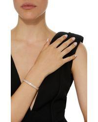 Anita Ko - Pink Pave Oval Bracelet With 3 Trillion Diamonds - Lyst