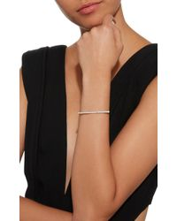 Sydney Evan - White Rectangular Bracelet - Lyst