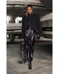 Isabel Marant Black Edna Cropped Coat