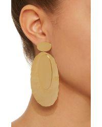 Bia Daidone Metallic Thelma 24k Gold-plated Earrings