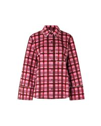 Baum und Pferdgarten Pink Mettie Plaid Cotton Shirt