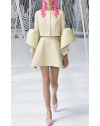 Delpozo | Multicolor Frilled Cuff Jacket | Lyst