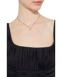 Sydney Evan | Black Mini Starburst Necklace | Lyst