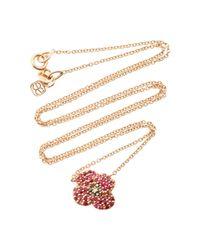 Sydney Evan   Pink Poppy Necklace   Lyst