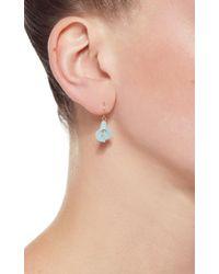Annette Ferdinandsen - Blue Large Amazonite Cala Lilies Earrings - Lyst