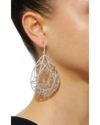 Jack Vartanian - Metallic Pear Shaped Earring - Lyst