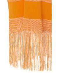 Edun | Orange Midi Length Sweater Dress | Lyst