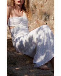Adriana Iglesias - White Vera One Shoulder Dress - Lyst
