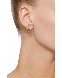 Charlotte Chesnais | White Saturn S Single Earring | Lyst