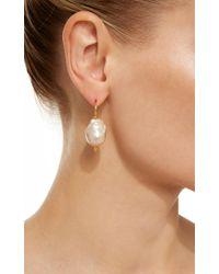 Ranjana Khan | Multicolor Large Single Pearl Earrings | Lyst
