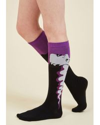 Sock It To Me | Purple Nice Day For A Fright Wedding Socks | Lyst