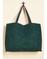 Triple 7 - Green Two-tone To Tango Bag In Teal - Lyst