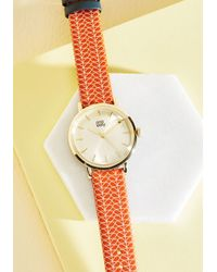 Orla Kiely | Orange Creative Rapport Watch | Lyst