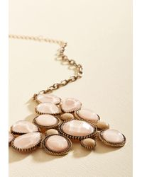 Ana Accessories Inc - Metallic Enlighten The Mood Necklace In Petal - Lyst