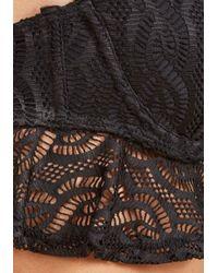 ModCloth - Black Sass On The Beach Swimsuit Top - Lyst