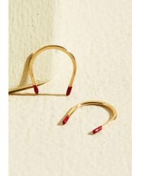 Erica Weiner   Metallic Opposite Attraction Earrings   Lyst
