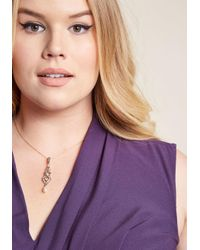 ModCloth - Multicolor Red Carpet Radiance Necklace - Lyst
