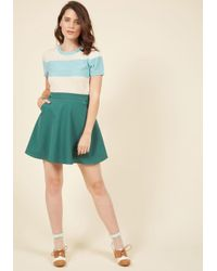 ModCloth - Blue Day, Brightened Sweater In Sky - Lyst