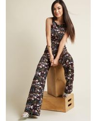 Collectif | Multicolor Horticulture Chic Sleeveless Jumpsuit | Lyst
