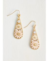 Ana Accessories Inc - Metallic People, Graces, Things Earrings In Blush - Lyst