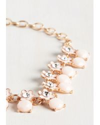 Ana Accessories Inc - Metallic For Flowers On End Necklace - Lyst