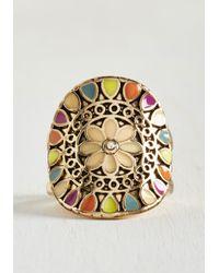 Zad Fashion Inc. | Metallic Can You Digit? Ring | Lyst