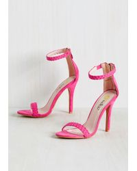 Machi Footwear - Pink Prim The Pump Heel In Fuchsia - Lyst