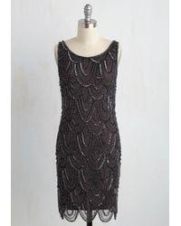 Pisarro Nights | Gray Roaring Reception Dress In Smoke | Lyst