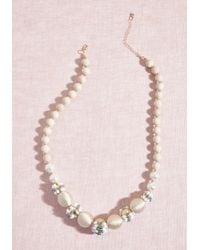 ModCloth - Multicolor Gotta-have Glam Beaded Necklace - Lyst