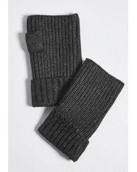 ModCloth - Black Set To Sparkle Glovettes - Lyst
