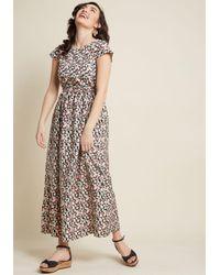 Compañía Fantástica Multicolor Pure Perk Maxi Dress