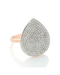 Monica Vinader - Metallic Alma Large Ring - Lyst