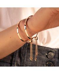 Monica Vinader Metallic Fiji Friendship Petite Chain Bracelet